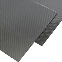 1Pc 1x400x500mm 3K Carbon Fiber Plate Panel Sheet 1mm Thickness Glossy Surfacegb
