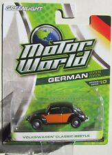 GREENLIGHT MOTOR WORLD SERIES 10 VOLKSWAGEN CLASSIC BEETLE rr