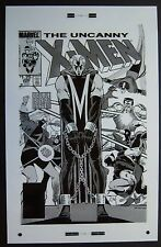 Original Production Art UNCANNY X-MEN #200 cover, JOHN ROMITA JR. art, Magneto