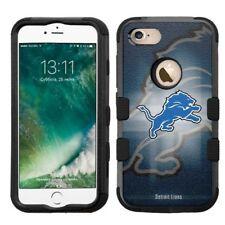 for Apple iPhone 8 Impact Armor Rugged Hard Hybrid Case Detroit Lions #BG