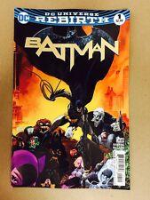 BATMAN #1 REBIRTH 1ST PRINT DC COMICS (2016) TIM SALE VARIANT COVER TOM KING