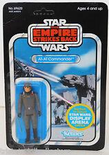 Vintage Star Wars ESB 1981 AT-AT COMMANDER 45 Back-A (Arena Offer)_MOC Unpunched