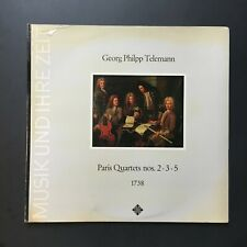 GEORG PHILPP TELEMANN paris quartets no.2.3.5