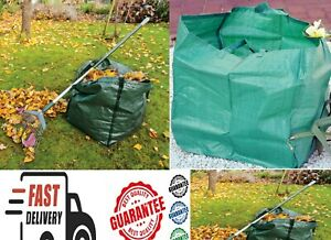 Garden Waste Bag Heavy Duty Strong Sack Grass Leaves Logs Firewood size L / M
