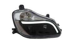 '15-18 KENWORTH T-680 Black LED Bar Projector Headlights - Right Side