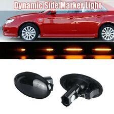 Dynamic LED Side Indicator Turn Signal Light For Impreza WRX STI Forester 08-19