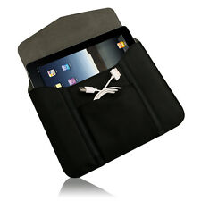 Verizon Leather Sleeve with Modem Pouch for all Apple iPads and 10 inch Tablets