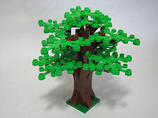 LEGO custom forest tree with 14 bright green leaves, new parts, FREE U.S. Ship!