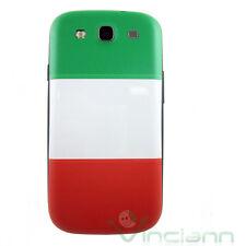 Cover copri batteria bandiera italiana per Samsung Galaxy S3 i9300 copribatteria