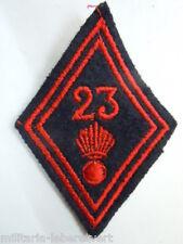 Losange tissu Losange 45 Patch modèle 1945 - 23° INFANTERIE  ORIGINAL