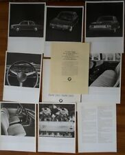 BMW 2500 & 2800 Saloon 1968 prestige UK Market brochure portfolio prospekt