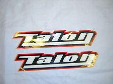 "Talon Stickers/Decals. x 2 New 8"" Long.,"