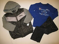 NWT KENNETH COLE 3pc set jacket BOY size 4 multi color
