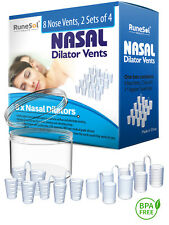 ANTI SNORING DEVICES (8) NASAL DILATORS STOP SNORING AIDS - Snore Stopper Vents
