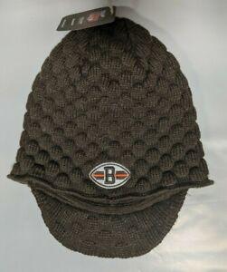 Cleveland Browns Knit Beanie Toque Winter Hat Skull Cap New women's waffle visor