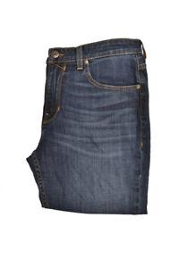 Paige Mens Monica M655A64 Slim Fit Jeans Angelo Destruc Blue 32W