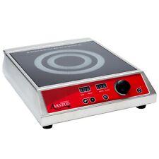 Avantco Countertop Induction Single Electric Range Cooker - 120V, 1800W
