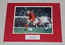 IAN CALLAGHAN Liverpool Genuine HAND SIGNED Autograph Photo Mount Display + COA