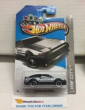 Toyota AE-86 Corolla #23 * Black * 2013 Hot Wheels * E15