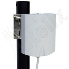 Altelix 5 GHz 14dBi WiFi Panel Antenna RP-SMA with Wall & Pole Tilt Swivel Mount