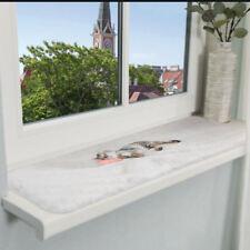TRIXIE Liegematte Nani für Fensterbank 90 x 28 cm grau Decke Kissen Katzenkissen