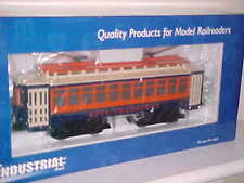 CITY TRANSPORT TROLLEY POWERED O27 Scale Industrial Rail Lighted IDM 14003 ☆ NEW