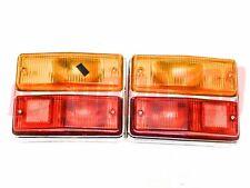 Lights Rear Right Left Fiat 124 Sedan Last Type Original