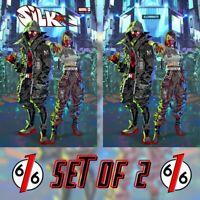 🚨🔥🕷 SILK #3 KAEL NGU Exclusive Variant Set Trade Dress & Virgin Miles Morales