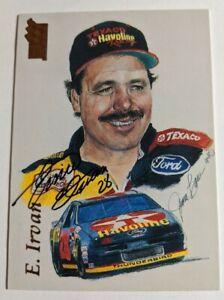 Ernie Irvan - 1994 Press Pass VIP Portraits Signature #75 - Havoline