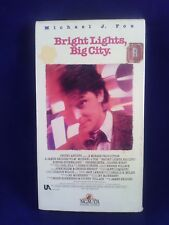 Bright Lights, Big City (VHS, 1988) Michael J. Fox, Phoebe Cates, Kiefer Sutherl