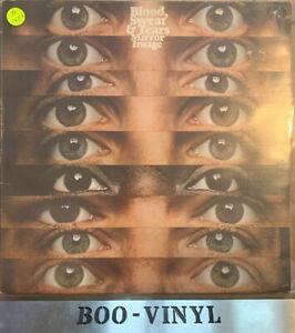 Blood Sweat & Tears Mirror Image Vinyl Lp Record Vg+ Con CBS80153