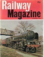 The Railway Magazine : January 1975 published by IPC Transport Press