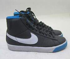 Nike Womens Blazer High Anthracite/White-Blue Liquor-Red 317808-016 Size 8