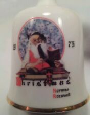 Norman Rockwell's 1975 First Limited Edition Christmas Bell - Nib