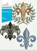 Fleur de Lis Anita Goodesign Embroidery Machine CD