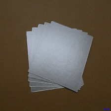 5 Pcs 15cm x 12cm Microwave Oven Mica Plates Sheet Replacement