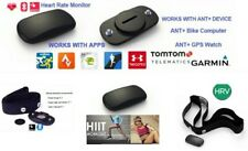 🇮🇹Fascia cardio frequenzimetro x Garmin Bluetooth ANT+TomTOM RUNNER Bryton