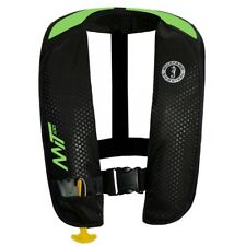 Mustang M.I.T. 100 Inflatable Pfd - Manual – Black / Florescent Green