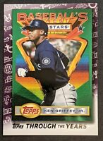 Ken Griffey Jr. 2021 Topps Series 1 Baseball #TTY-16 Topps Through the Years