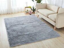Fluffy Rugs Anti Slip Skid SHAGGY RUG Soft Carpet Mat Floor Bedroom Living Room