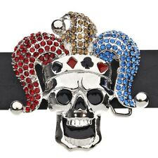 Iced Out Bling Ceinture - Crâne CLOWN