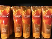 Bath & Body Works Sensual Amber Ultra Shea Body Cream 8oz