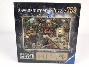 "Ravensburger ESCAPE Witch's Kitchen 759 Piece Puzzle  27 x 20"" New Sealed"