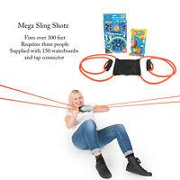 Funtime Mega Sling Shotz Water Balloon Bomb Battle Fight Launcher Garden Game