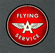 Flying A Service Gas and Oil Vintage Sign T-Shirt