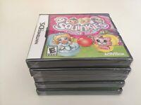 Squinkies: Surprize Inside (Nintendo DS, 2011) DS NEW!