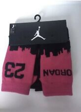Nike Air Jordan Jumpman Kids Infant Socks 2X Pairs Uk 2-3 Years Uk 5-7 K