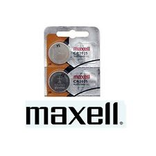 2 Maxell Lithium Battery CR2025 2025 3V Fast USA Ship
