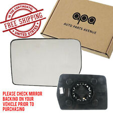 For Ford F150 04-14  Mirror Glass with Backing Plate Left Driver Side