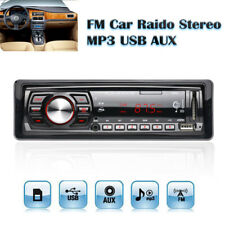 In-Dash 1 DIN 4CH FM Car AUX Input Receiver Stereo SD USB MP3 WMA Radio Player